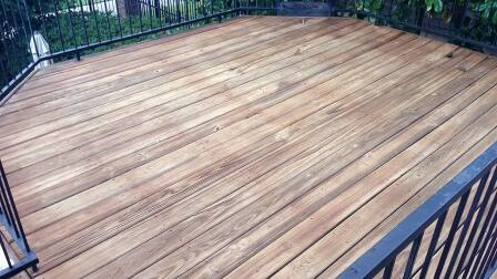 Unstained Deck